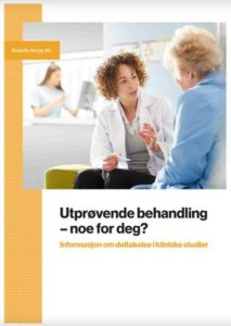 Forside til e-boken Utprøvende behandling - Noe for deg?